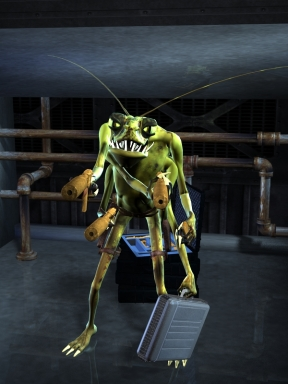 Cockroaches Survive Radiation, Don't They?