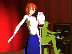Nightclub Singer (2008? DAZ|Studio 2)