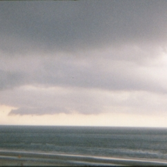 Storm over Daytona Beach