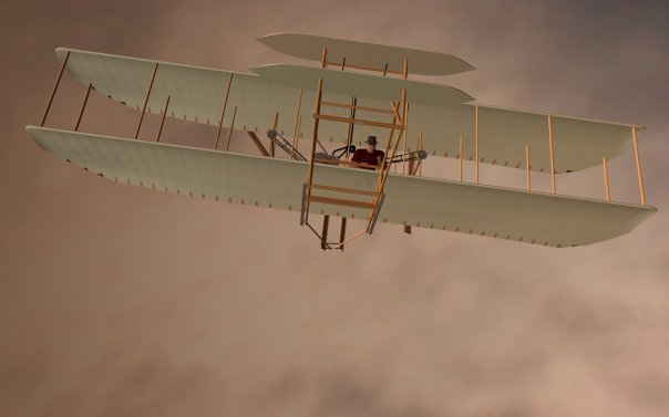 Build a Wright Flyer (2013? DAZ|Studio 4.0)